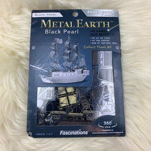 Fascination Metal Earth Black Pearl Silver Edition